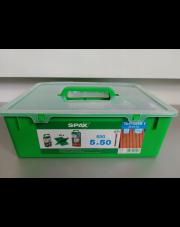 SPAX TARAS ZESTAW 5x50 A2 (850szt) + GRATISY